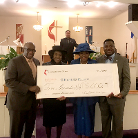 Voorhees receives more than $5,000 from Franklin United Methodist Church
