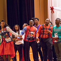 Voorhees Choir spreads Holiday Joy
