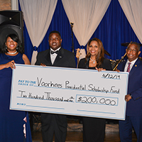 Voorhees raises $200,000 during 2019 Presidential Scholarship Gala