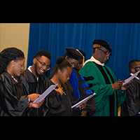 Voorhees holds 2019 Alpha Kappa Mu Honors Society Induction Ceremony